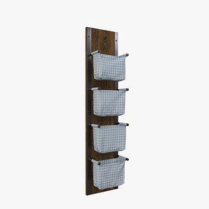 3D Fabric Storage model