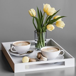 Decorative set 28 3D model
