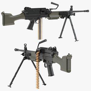 3D FN Minimi Mk3