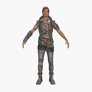 3D model Soldier Reina