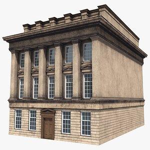 3D building apartment newcastle