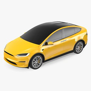Electric SUV Exterior Only 3D model