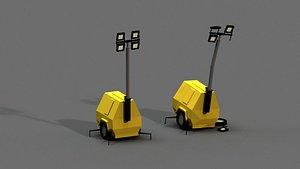 light generator post apocalyptic 3D