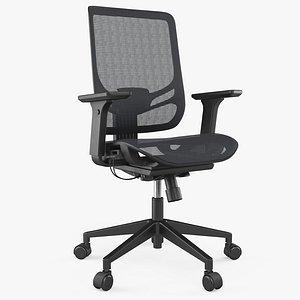 3D Office Chair 8K PBR Textures