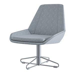 3D model chair furniture armchair