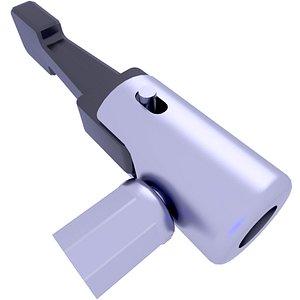 air compressor plug 3D