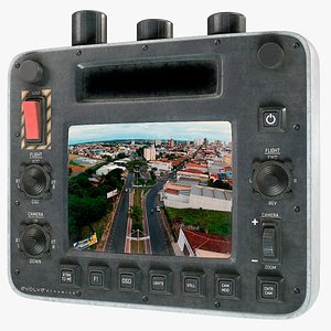 3D Drone Smart Controller PBR