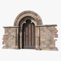 Church Doorway in Hampshire Gothic Architecture