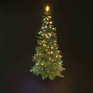 tree christmas pbr 3D model