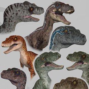 raptor - 3D model
