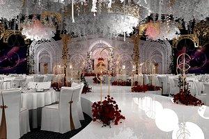 ballroom banquet hall 3D