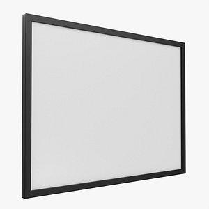 3D billboard mockup board