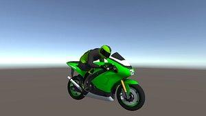 3D racing bikes