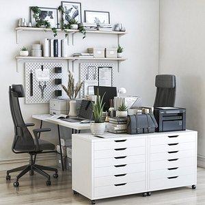 IKEA office workplace 54 model