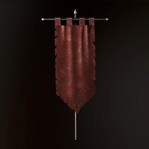 ancient flag model