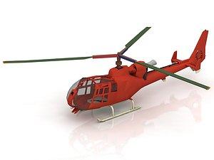 3D Eurocopter EC-135