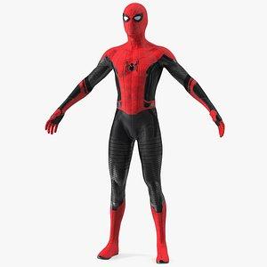 Spider Man Neutral Pose 3D model
