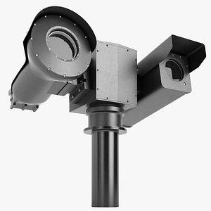 Military Thermal Camera 03 3D model