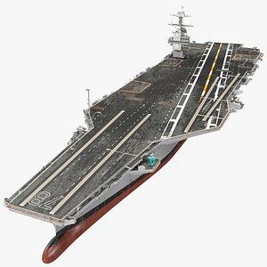USS Gerald Ford CVN 78 model
