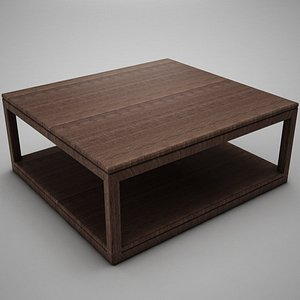 coffe table 3d 3ds
