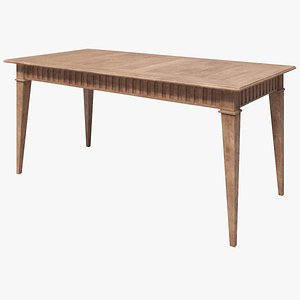 Dining Table - Antique 3D model