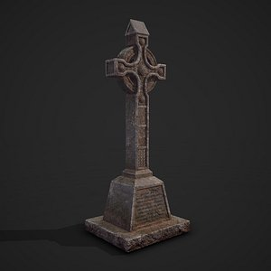 tomb tombstone medieval 3D model