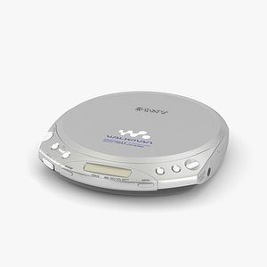 3D Sony Walkman CD Player