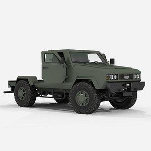 3D Cargo transportation chassi