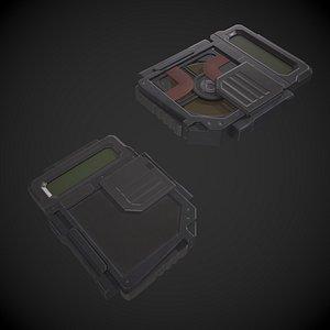 Data Disk Hard Drive 3D model