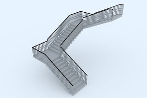 stairs 57 3D model