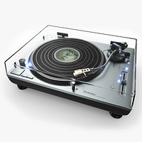 Technics Turntable Vinyl Record Player