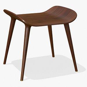 Wood Classic Chair 3D model