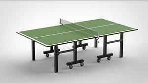 3D table tennis model