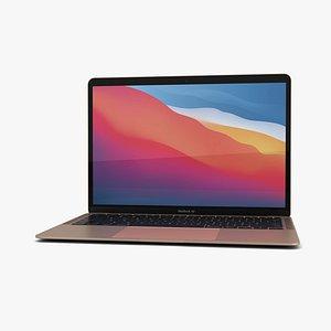 3D apple macbook mac model