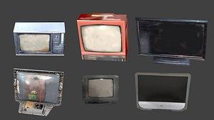 3D OldTV package model