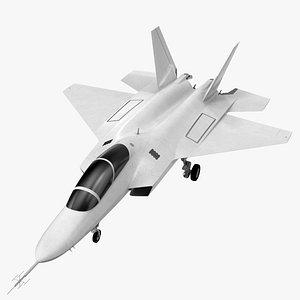 Mitsubishi X2 Shinshin Aircraft Exterior Only 3D model
