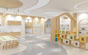 Kindergarten Classroom model