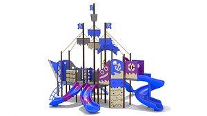 Playground Ship Playset model