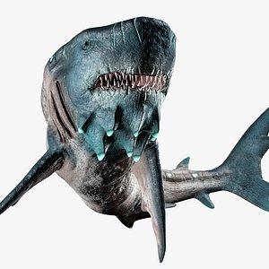 Shark Creature 3D