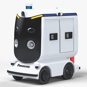 Panasonic Autonomous Driving Delivery Robot model