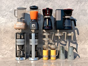 Soybean milk machine coffee machine electric kettle electric rice cooker juicer model