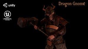Dragon Gnome 3D model