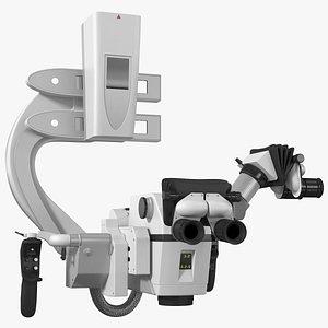 3D Neurosurgery Microscope model