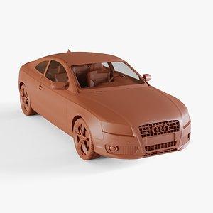 3D model audi a5 2010