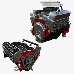 car v8 engine model