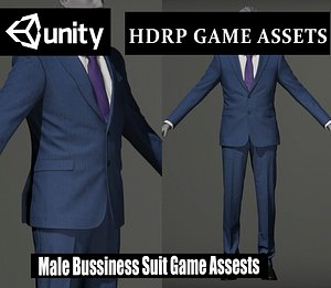 bussiness suitgame 3D model