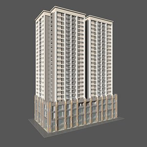 3D Tower Apartment 1