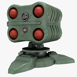 Missile Turret 3D model