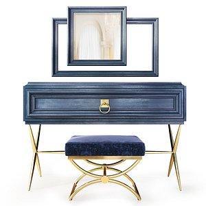 sideboard elegante enza home 3D model