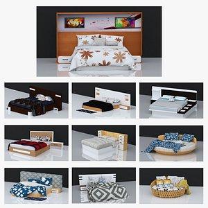 10 BEDS VOLUME - 1 3D model